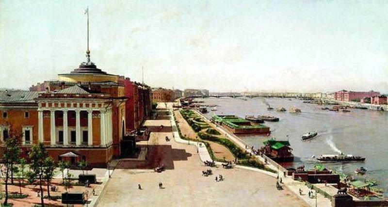 Адмиралтейская набережная, Санкт-Петербург