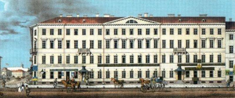 Дом Чаплина, 1830-е.