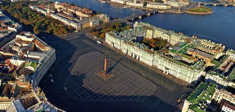 Панорама. Дворцовая площадь
