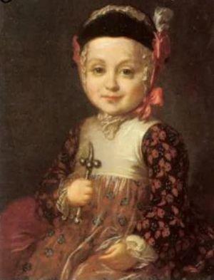 Павел Петрович в детстве